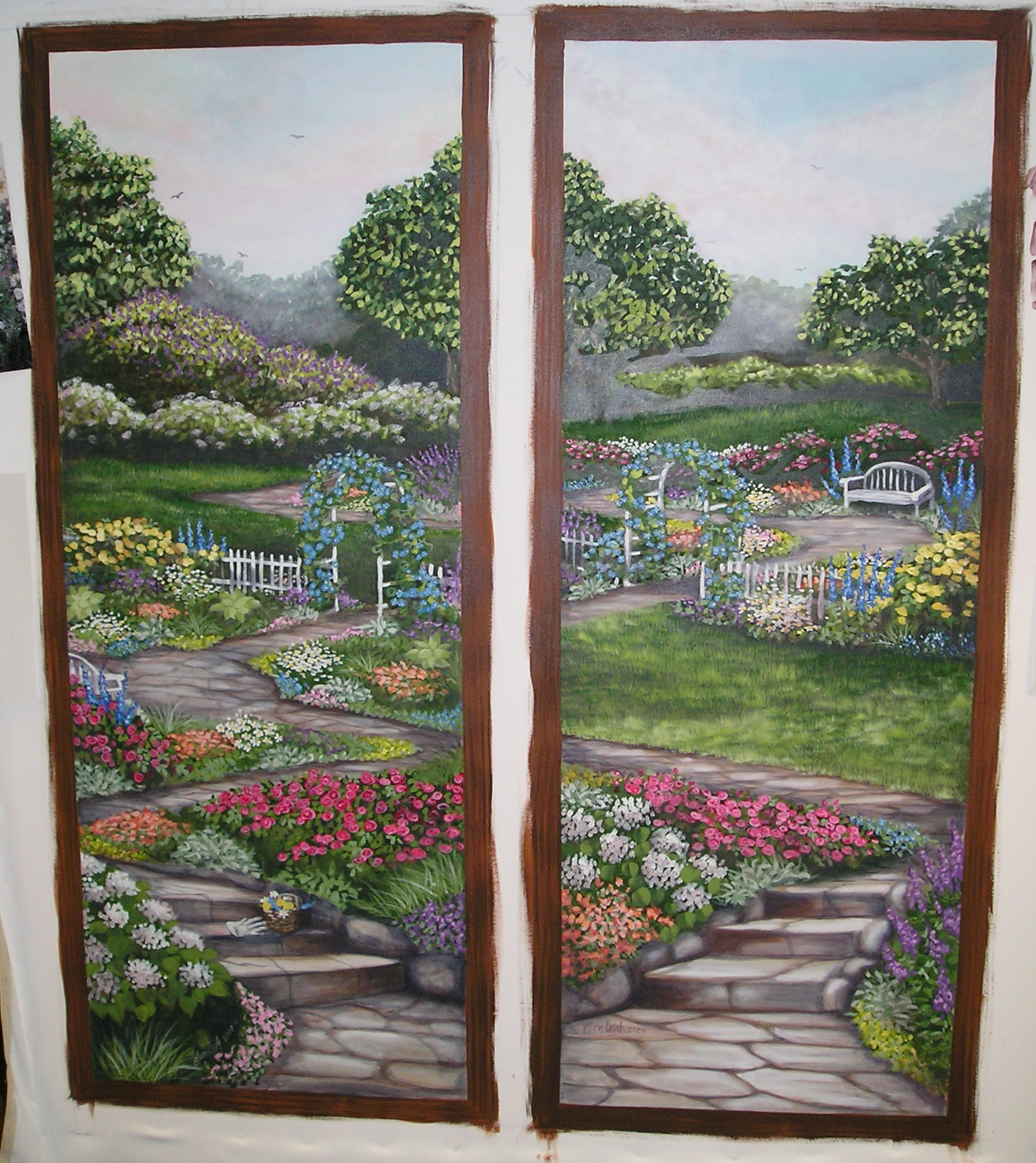 Window Scene Wall Murals Ellen Leigh